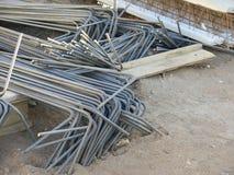 Bent Steel-Stangen Lizenzfreie Stockbilder