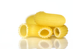 Bent tubes pasta Royalty Free Stock Photos