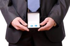 Bent u machteloos zaken? Royalty-vrije Stock Fotografie