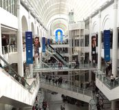 Bentalls购物中心在泰晤士的金斯敦 库存图片