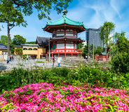 Benten-Do Temple in Shinobazu Pond, Tokyo Stock Image
