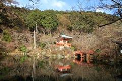 Benten hall of Daigo temple. In Kyoto, Japan Stock Photography