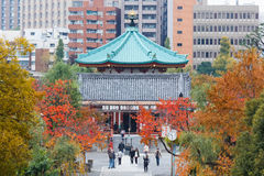 Benten Hall Temple at Ueno Park Stock Photography