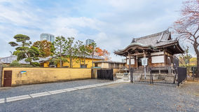 Benten Hall Temple at Ueno Park Royalty Free Stock Photography
