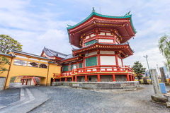 Benten Hall Temple at Ueno Park Stock Images