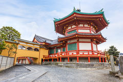 Benten Hall Temple at Ueno Park Stock Photo