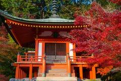Bentendozaal in Daigo Ji-tempel Stock Fotografie