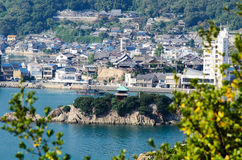 Bentenjima in Tomonoura royalty free stock image