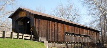 Bentetka Road Covered Bridge. Benetka Road covered bridge in Ashtabula county, Ohio Royalty Free Stock Image