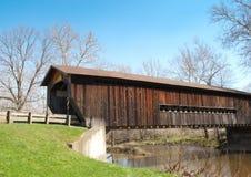 Bentetka Road Covered Bridge. Benetka Road covered bridge in Ashtabula county, Ohio Stock Images