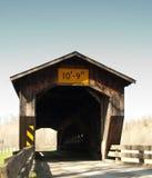 Bentetka Road Covered Bridge. Benetka Road covered bridge in Ashtabula county, Ohio Royalty Free Stock Photo