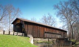 Bentetka Road Covered Bridge. Benetka Road covered bridge in Ashtabula county, Ohio Stock Image