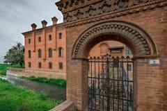 Bentivoglio, Bologna, emilia, Włochy Obraz Royalty Free
