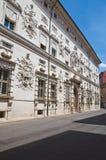 Bentivoglio palace. Ferrara. Emilia-Romagna. Italy. Stock Photo
