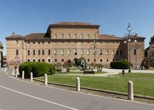 Bentivoglio palace. Gualtieri (Re),Italy, the historic Bentivoglio Palace of seventeenth  century Stock Photography
