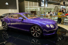 Bentley ηπειρωτική GT, 2014 CDMS Στοκ Φωτογραφία