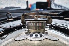 Bentley Ли укомплектовывает личным составом гонку Serie Стоковые Изображения RF