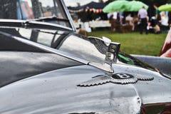 Bentley Ли укомплектовывает личным составом гонку Serie Стоковые Фото