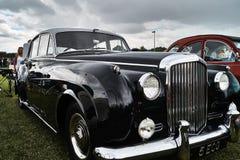 Bentley Ли укомплектовывает личным составом гонку Serie Стоковое Изображение
