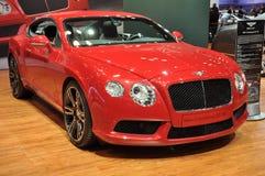 Bentley новый континентальный GT V8 Стоковые Фотографии RF