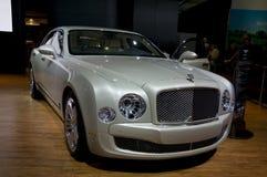 Bentley 2011 Mulsanne en el NAIAS Fotografía de archivo libre de regalías