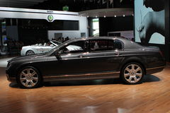 Bentley on 64rd IAA Royalty Free Stock Photos