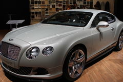 Bentley on 64rd IAA Royalty Free Stock Photo