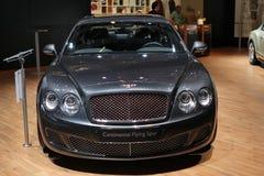 Bentley auf 64. IAA Stockbild