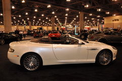 Bentley at Auto Show Stock Image