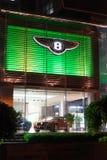 Bentley-auto voor verkoop Royalty-vrije Stock Foto