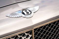 Bentley badge Stock Photo