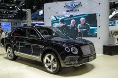 Bentley Bentayga Fastest SUV photo stock