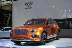 Bentley Bentayga supercar Royalty Free Stock Images