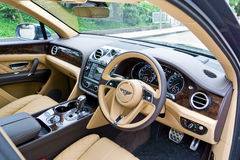 Bentley Bentayga W12 Interior Royalty Free Stock Photo