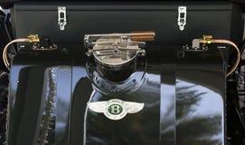 Bentley 1925 bränslebehållare Arkivbild