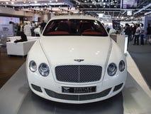 Bentley branco Foto de Stock Royalty Free