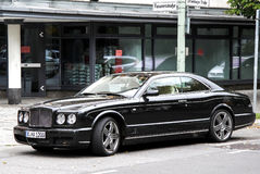Bentley Brooklands Royalty Free Stock Photo