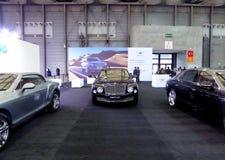 Bentley cars at the auto show Stock Photos