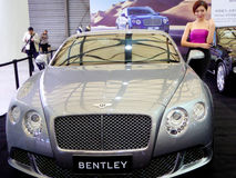Bentley cars model and cars Royalty Free Stock Photo