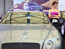 Bentley cars model and cars Royalty Free Stock Photography