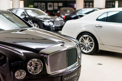Bentley cars for sale Stock Images