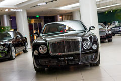 Bentley cars for sale Royalty Free Stock Photo