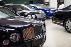 Bentley cars for sale Royalty Free Stock Images