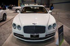 Bentley at the Chicago Auto Show Stock Photography