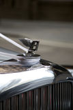 Bentley, classic handcrafted luxury car Stock Images