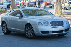 Bentley Continenta on display Stock Images