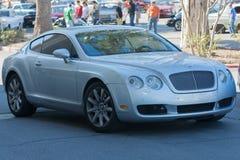 Bentley Continenta na exposição Imagens de Stock