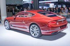Bentley Continentaal GT stock foto's