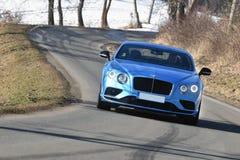 Bentley Continentaal GT royalty-vrije stock afbeeldingen