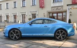 Bentley Continentaal GT royalty-vrije stock foto